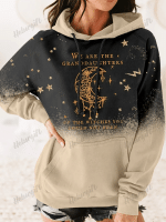 We Are the Granddaughters of the Witches You Could Not Burn Salem Witch Print Long Sleeve Hoodie