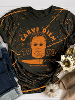 Michael Myers Halloween Print Short Sleeve T-shirt