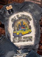 Halloweentown Print Short Sleeve T-shirt