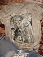 Vintage Sanderson Sisters Print Short Sleeve T-shirt