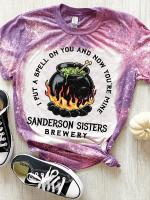 Sanderson Sisters Print Short Sleeve T-shirt