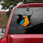 [sk1828-snf-tnt] Parrot Crack Sticker Birds Lover