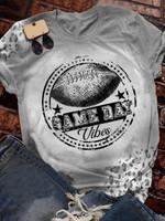 Game Day Print Short Sleeve T-shirt