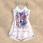 Fight like a warrior Rompers For Women