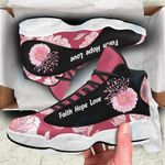 Breast cancer flower 13 Sneakers XIII Shoes