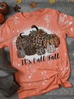 Fall Pocus Print Short Sleeve T-shirt