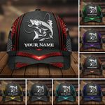 Premium Pike Fishing Hats Multicolored Personalized | Clevefit