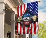 Biden Harris 2020 Inside American Flag Red Stripes Printed Flag