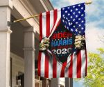 Biden Harris For America 2020 Inside US Flag 3D Printed Flag