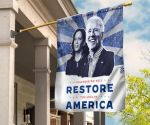 Biden Harris Together We Will Restore The Soul American Printed Flag