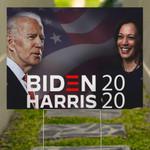 Biden Harris And Kamala Harris Smile 2020 Printed Yard Sign