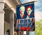Biden Harris And Kamala Harris 2020 Retro Printed Flag