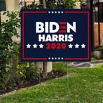 Blue Biden Harris 2020 For Presidential Election 2020 Printed Yard Sign