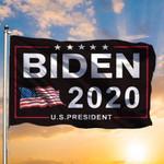 Black Biden 2020 US President American Flag 3D Printed Flag