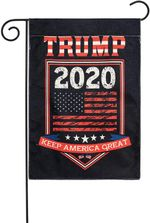 Trump 2020 Dark 3D Printed Garden Flag