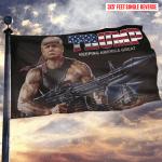 Trump Keeping America Great Rambo Flag