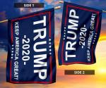 Trump 2020 Keep American Great Printed Flag