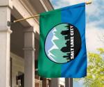 Salt Lake City Garden Flag House Flag