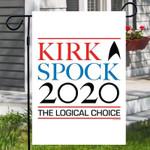 Star Trek: The Original Series Kirk And Spock 2020 Garden Flag