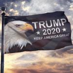 Eagles Trump 2020 Keep America Great House Flag