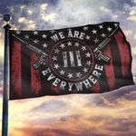 Don't Tread On Me We Are Everywhere House Flag