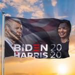 Biden Harris Flag And American Flag Joe Biden 2020 House Flag