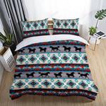 Horse Native American Printed Bedding Set Bedroom Decor