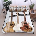 Guitar Music Instrument  Printed Bedding Set Bedroom Decor