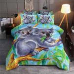 Koala On Tree Printed Bedding Set Bedroom Decor