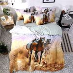 Horse Running  Printed Bedding Set Bedroom Decor