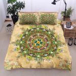 Mandala Flora  Pattern Bedding Set Bedroom Decor
