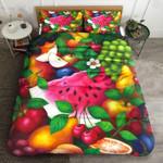 Fresh Fruits Printed Bedding Set Bedroom Decor