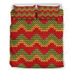Knitted Reggae Printed Bedding Set Bedroom Decor