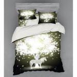 Magic Unicorn Light Bokeh Bedding Set Bedroom Decor