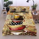 I Love Coffee  Printed Bedding Set Bedroom Decor