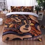 Guitar Classic Texture Printed Bedding Set Bedroom Decor