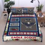 Eagle Scout  Star Bedding Set Bedroom Decor
