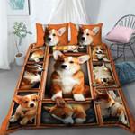 Corgi Emotion Printed Bedding Set Bedroom Decor