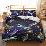 Dragonfly Pattern Go To Heaven Bedding Set Bedroom Decor