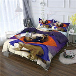 Dachshund Warrior  Printed Bedding Set Bedroom Decor