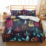 Colorful Dream Catcher Printed Bedding Set Bedroom Decor