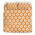 Collection Carrot Pattern Bedding Set Bedroom Decor