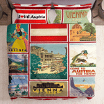 Come To Austria  For Fishing Bedding Set Bedroom Decor