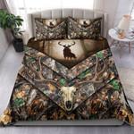 Deer Hunting In Forest Bedding Set Bedroom Decor