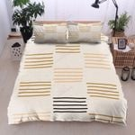 Color Lines Pattern Bedding Set Bedroom Decor