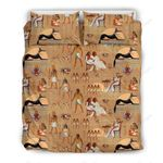 Ancient Egyptian Printed Bedding Set Bedroom Decor