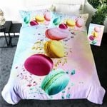 Color Sweet French Macaron Bedding Set Bedroom Decor