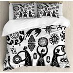 Dancing Shaman  Printed Bedding Set Bedroom Decor
