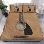 Acoustic Guitar Printed Bedding Set Bedroom Decor