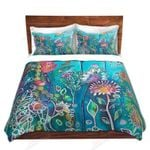 Flower Beauty Art Under Water Bedding Set Bedroom Decor